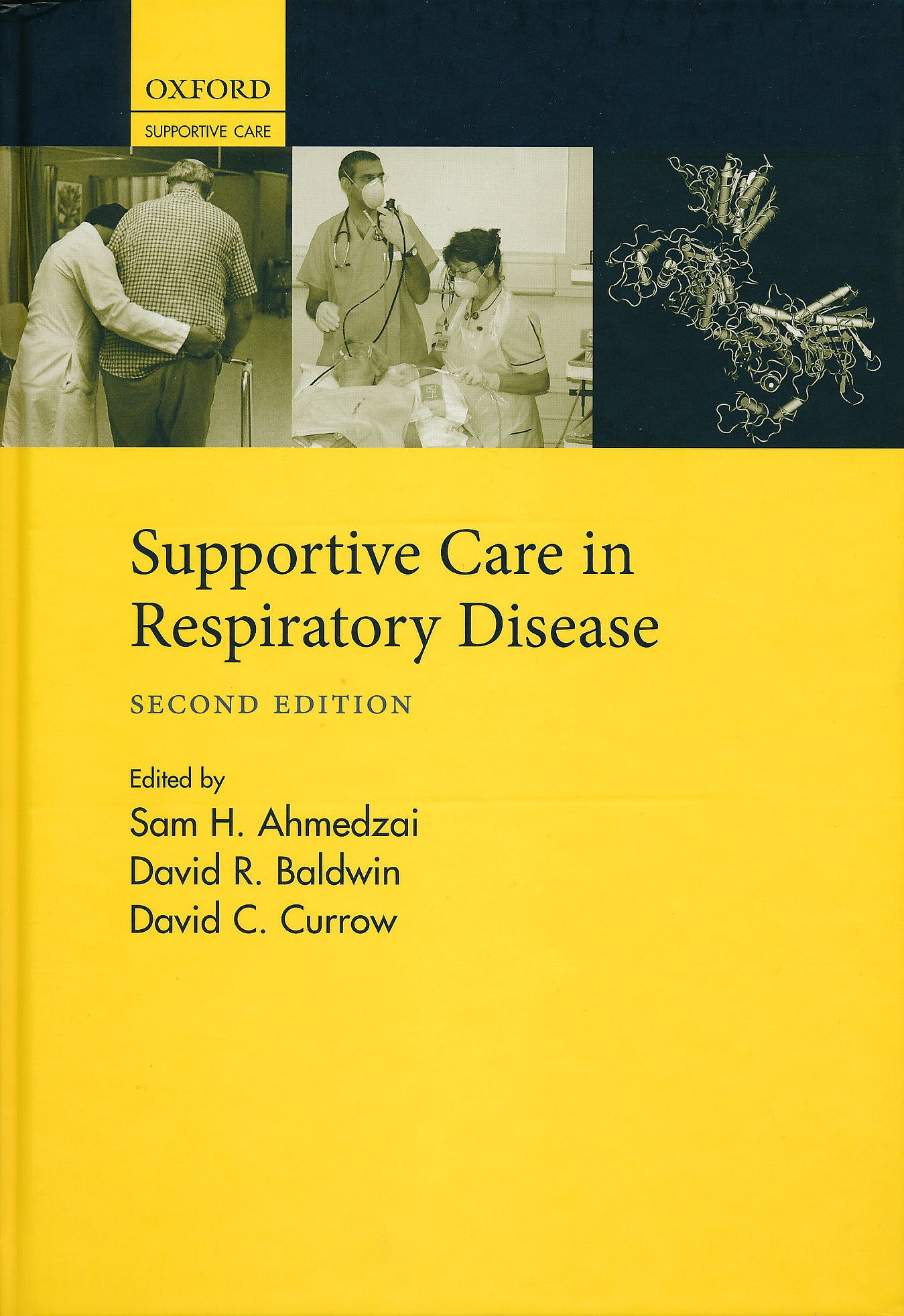 Portada del libro 9780199591763 Supportive Care in Respiratory Disease