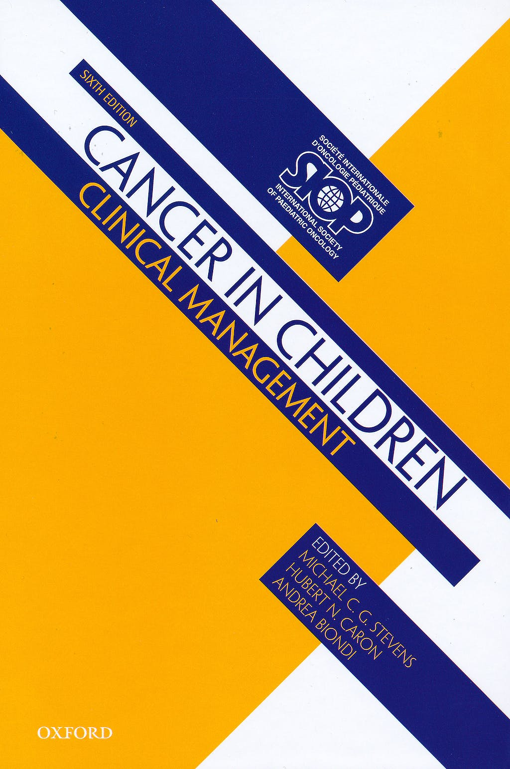 Portada del libro 9780199599417 Cancer in Children. Clinical Management