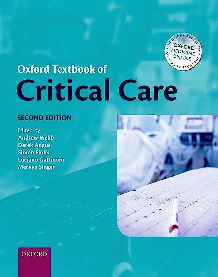 Portada del libro 9780199600830 Oxford Textbook of Critical Care