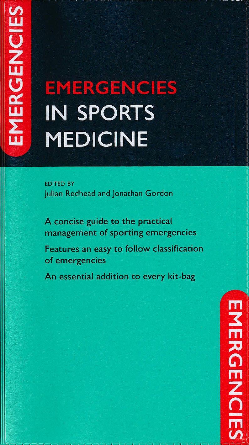 Portada del libro 9780199602674 Emergencies in Sports Medicine