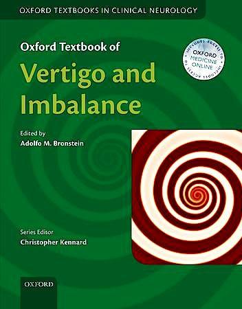 Portada del libro 9780199608997 Oxford Textbook of Vertigo and Imbalance