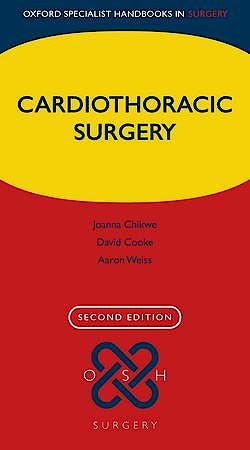 Portada del libro 9780199642830 Cardiothoracic Surgery