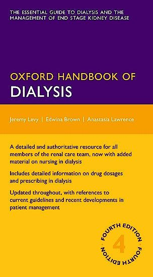 Portada del libro 9780199644766 Oxford Handbook of Dialysis