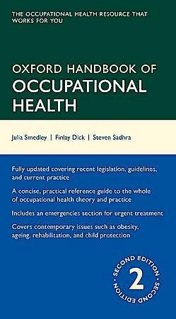 Portada del libro 9780199651627 Oxford Handbook of Occupational Health