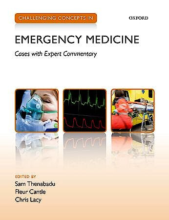 Portada del libro 9780199654093 Challenging Concepts in Emergency Medicine. Cases with Expert Commentary