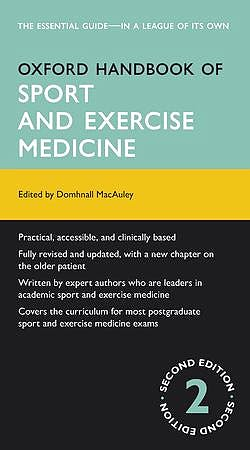 Portada del libro 9780199660155 Oxford Handbook of Sport and Exercise Medicine