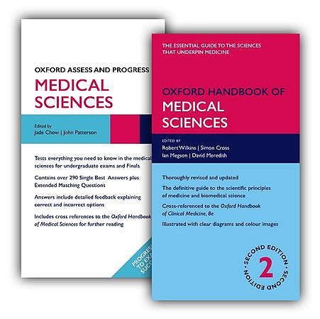 Portada del libro 9780199670666 Oxford Handbook of Medical Sciences + Oxford Assess and Progress Medical Sciences (Medical Sciences Pack)