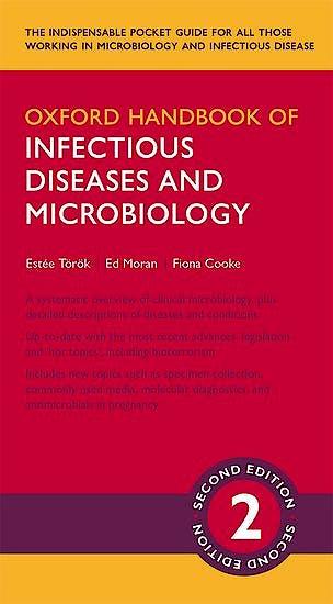 Portada del libro 9780199671328 Oxford Handbook of Infectious Diseases and Microbiology