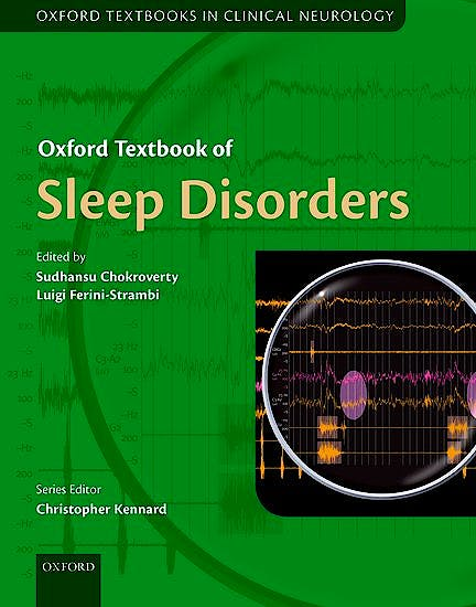 Portada del libro 9780199682003 Oxford Textbook of Sleep Disorders (Oxford Textbooks in Clinical Neurology)