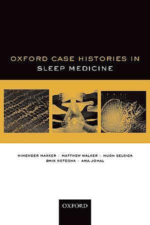 Portada del libro 9780199683956 Oxford Case Histories in Sleep Medicine