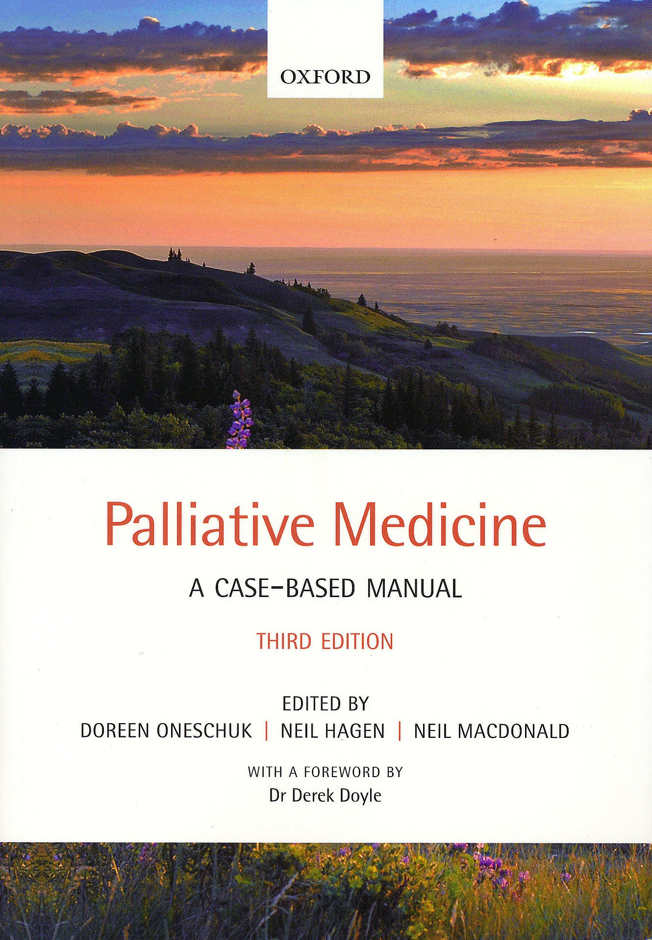 Portada del libro 9780199694143 Palliative Medicine. a Case-Based Manual