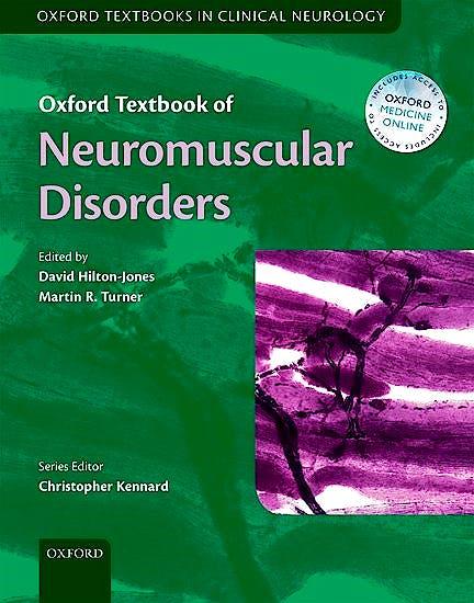 Portada del libro 9780199698073 Oxford Textbook of Neuromuscular Disorders