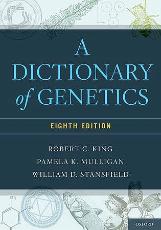 Portada del libro 9780199766444 A Dictionary of Genetics
