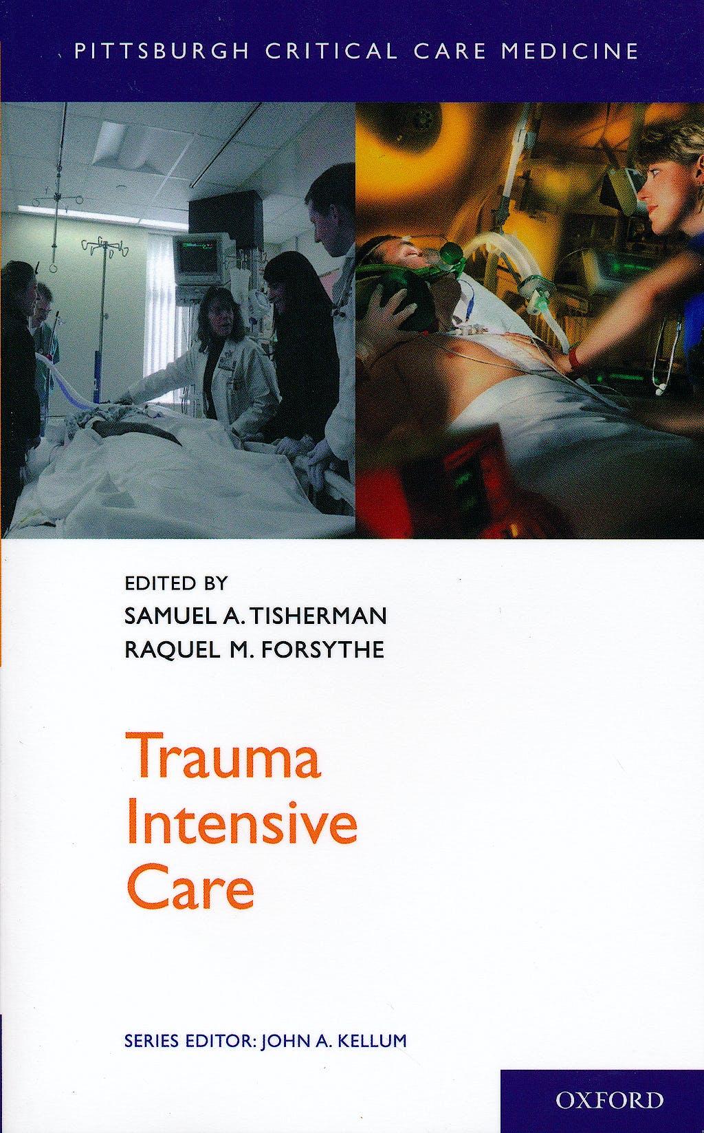 Portada del libro 9780199777709 Trauma Intensive Care