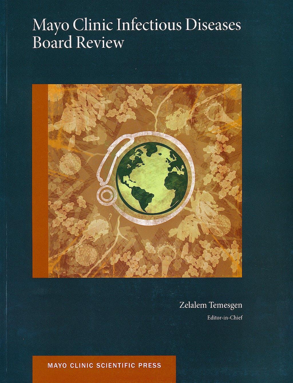 Portada del libro 9780199827626 Mayo Clinic Infectious Diseases. Board Review