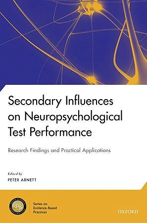 Portada del libro 9780199838615 Secondary Influences on Neuropsychological Test Performance