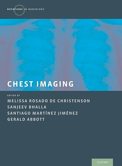 Portada del libro 9780199858064 Chest Imaging (Rotations in Radiology)