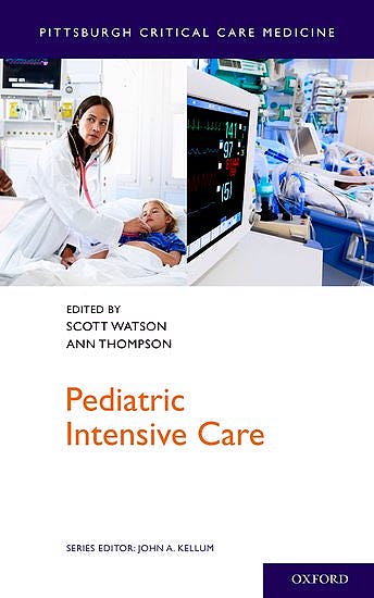 Portada del libro 9780199918027 Pediatric Intensive Care