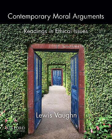 Portada del libro 9780199922260 Contemporary Moral Arguments. Readings in Ethical Issues