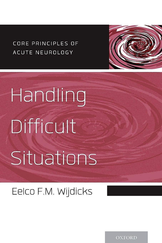 Portada del libro 9780199928767 Handling Difficult Situations