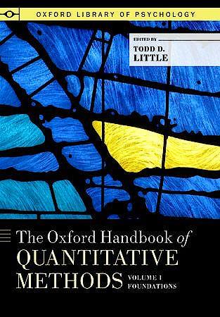 Portada del libro 9780199934874 The Oxford Handbook of Quantitative Methods in Psychology, Vol. 1