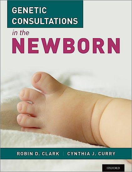 Portada del libro 9780199990993 Genetic Consultations in the Newborn