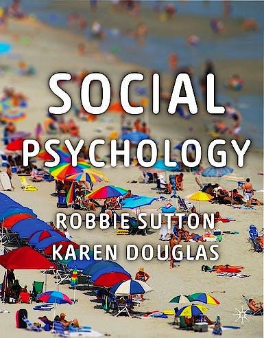 Portada del libro 9780230218031 Social Psychology