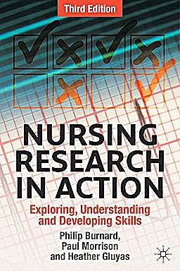 Portada del libro 9780230231672 Nursing Research in Action. Exploring, Understanding and Developing Skills