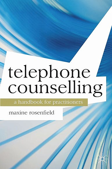 Portada del libro 9780230303362 Telephone Counselling. a Handbook for Practitioners