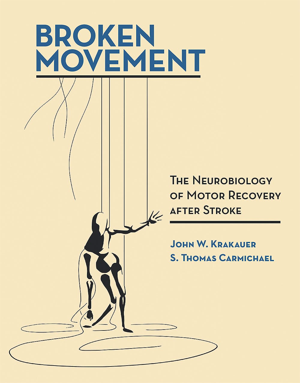 Portada del libro 9780262037228 Broken Movement. The Neurobiology of Motor Recovery after Stroke