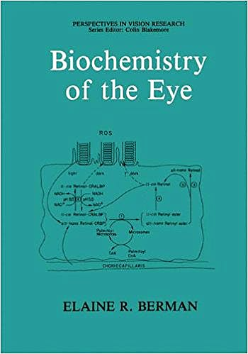 Portada del libro 9780306436338 Biochemistry of the Eye (Perspectives in Vision Research) (Hardcover)