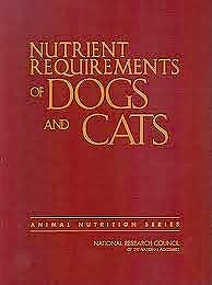 Portada del libro 9780309086288 Nutrient Requirements of Dogs and Cats