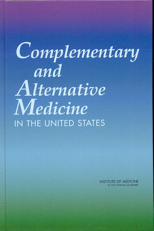 Portada del libro 9780309092708 Conventional and Complementary and Alternative Medicine