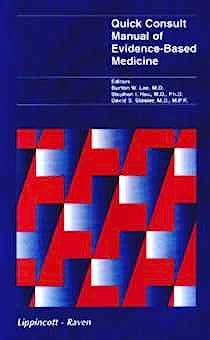 Portada del libro 9780316518871 Quick Consult Manual of Evidence-Based Medicine