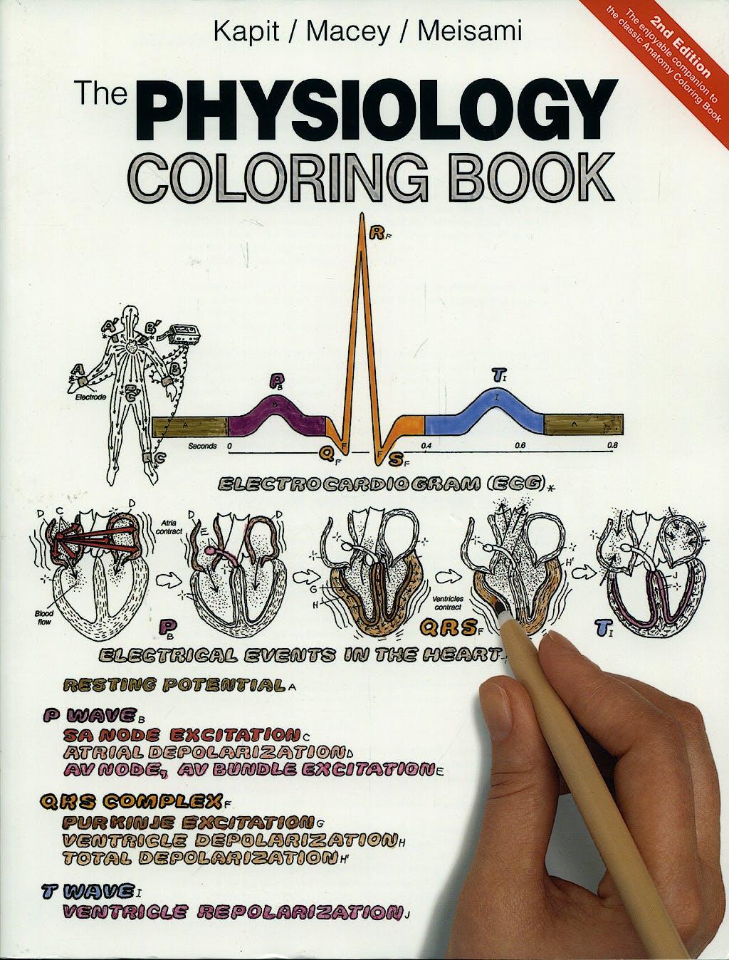 Portada del libro 9780321036636 The Physiology Coloring Book