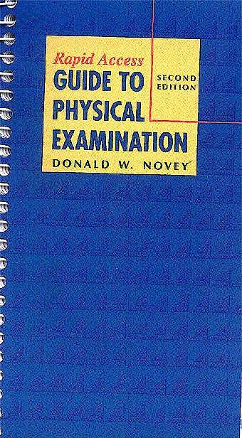 Portada del libro 9780323001281 Rapid Access Guide to Physical Examination