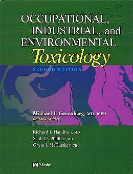 Portada del libro 9780323013406 Occupational Industrial, and Environmental Toxicology