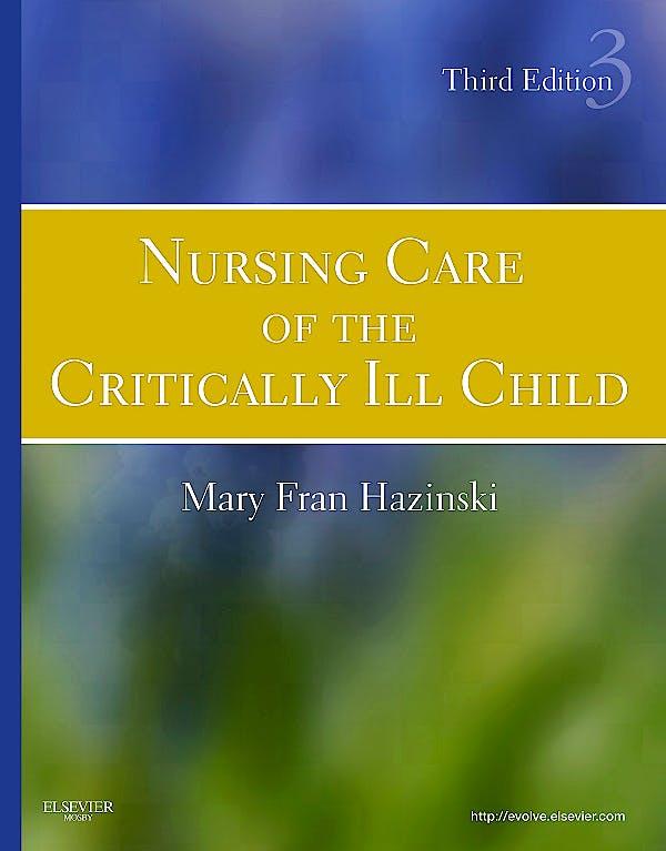 Portada del libro 9780323020404 Nursing Care of the Critically Ill Child