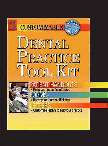 Portada del libro 9780323025096 Dental Practice Tool Kit - Patient Handouts, Forms, and Letters