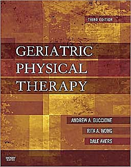 Portada del libro 9780323029483 Geriatric Physical Therapy