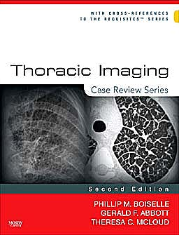 Portada del libro 9780323029995 Thoracic Imaging. Case Review Series