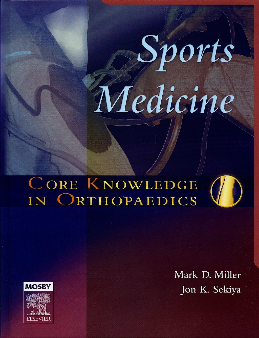 Portada del libro 9780323031387 Sports Medicine. Core Knowledge in Orthopaedics