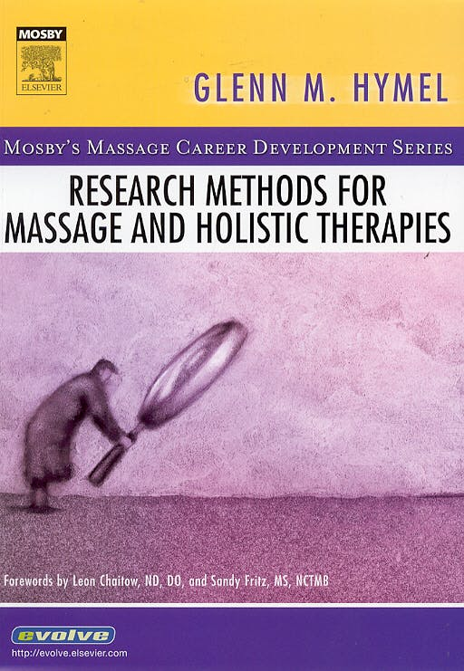 Portada del libro 9780323032926 Research Methods for Massage and Holistic Therapies