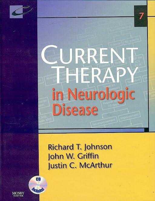 Portada del libro 9780323034326 Current Therapy in Neurologic Disease + Cd-Rom