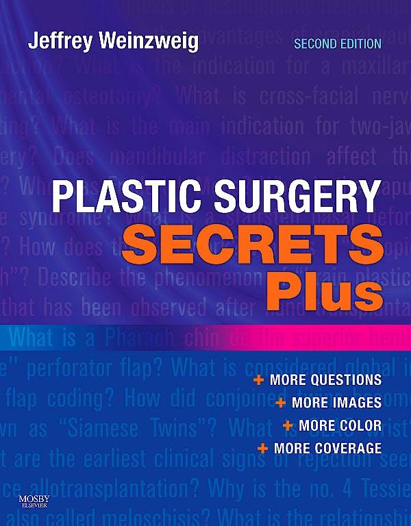 Portada del libro 9780323034708 Plastic Surgery Secrets Plus