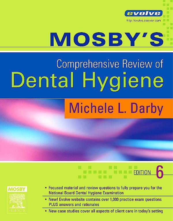 Portada del libro 9780323037136 Mosby's Comprehensive Review of Dental Hygiene