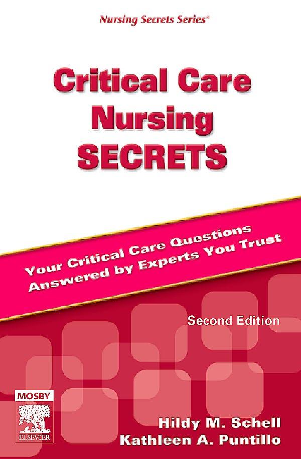 Portada del libro 9780323041782 Critical Care Nursing Secrets