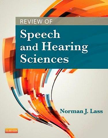 Portada del libro 9780323043441 Review of Speech and Hearing Sciences