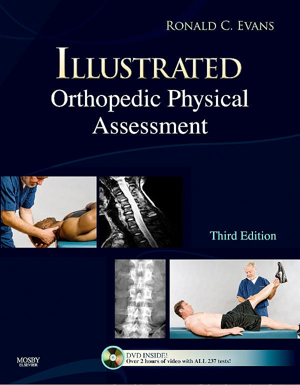 Portada del libro 9780323045322 Illustrated Orthopedic Physical Assessment + Dvd
