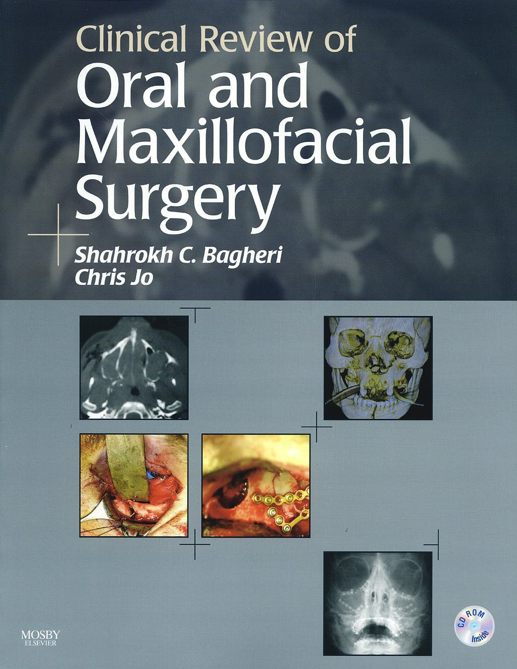 Portada del libro 9780323045742 Clinical Review of Oral and Maxillofacial Surgery + Cd Rom